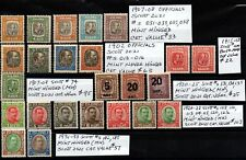 Iceland 1902-1933 nice selection of Mh/Mnh regular and official issues F/Vf lot