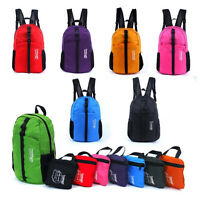 EG_ HK- Waterproof Foldable Backpac Rucksack for Outdoor Sports Hiking Camping C