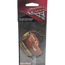 Disney Pixar Cars, Lightning Mcqueen Car Air Freshener - Cherry Fragrance