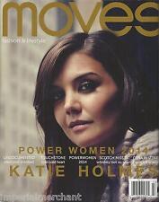 Moves Magazine Katie Holmes Terrence Howard Jason Isaacs Dena Blizzard Fashion