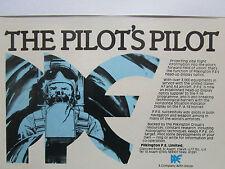 10-12/1980 PUB PILKINGTON PE HEAD-UP DISPLAY OPTICS PILOT PILOTE A-7 A-4 F-16 AD