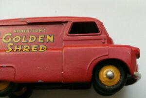 Dinky Meccano Die Cast Model Vehicle 480 Bedford Red Van Golden Shred (Ref D033)