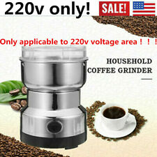 Electric Coffee Bean Grinder Herbs Spices Nuts Grinding Mill Machine 220V 400W-X