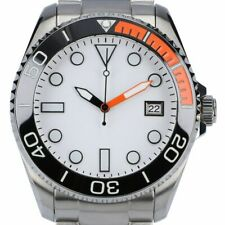 Automatic Diver Watch Sapphire Glass Ceramic 300m BGW9 0045 Black Orange White