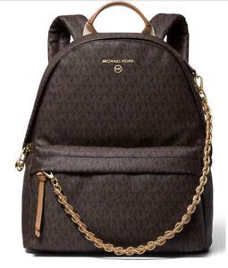 ❤️ Michael Kors Slater Medium Brown/Acorn Backpack