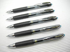 5pcs UNI-BALL Signo UMN-207 0.5mm roller ball pen BlueBLACK ink