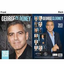 George Clooney Calendrier 2013 Neuf & Emballage Original / Rs