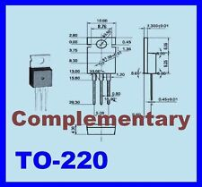 2x 2SC1096 + 2X 2SA634 Transistor For Audio Frequency