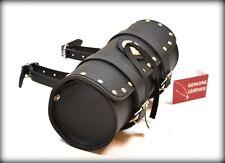 Trousse a outil en Cuir Rond / Clous NEUF ( pour moto custom trike solex harley