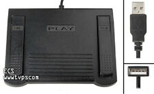 ECS FS-85USB USB Foot Pedal for use with Sony Digital Voice Editor - Pre-Owned