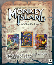 Monkey Island 1 + 2 + 3 XP/Vista + + 7 + 8 la Collection todos en alemán