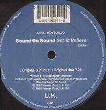 SOUND ON SOUND - Got To Believe - 1992 WEA