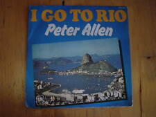 45 tours peter allen i go to rio