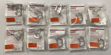 Lot Of 10 Hu Friedy Rubber Dam Clamps 212 Stainless Steel Rdcm212 New In Pkgs