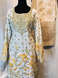Stitched To XL Uk Size Bollywood Trouser kameez party wear