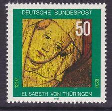 Germany 1363 MNH OG 1981 St. Elizabeth of Thuringia Death 750th Anniversary