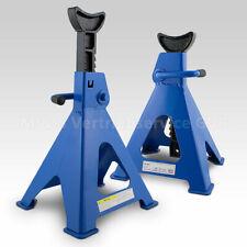ms-point Bituxx 6t Stahl-Unterstellbock - Blau, 2 Stück
