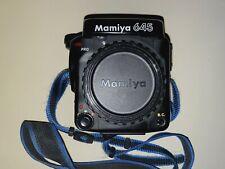 *MAKE OFFER* Mamiya 645 Pro body + neck strap + body cap + rear blanking plate