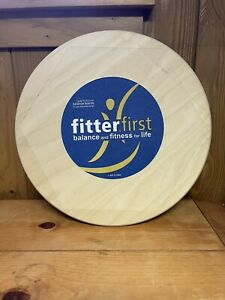 """Fitterfirst Professional 16"""" Balance Board Stretching & Balancing Exercise Board"""