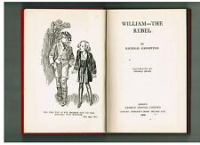 RICHMAL CROMPTON William the Rebel - 1950 1st Australian edition - Dymocks