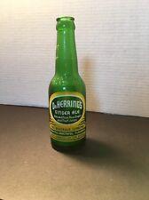 Dr. Herrings Ginger Ale ACL Soda Bottle