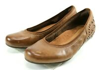 Rockport Cobb Hill Collection $90 Women's Comfort Flats Shoes Size 7 Brown