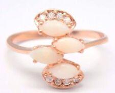 Anelli di lusso con gemme cabochon , Misura anello 17