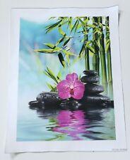 UNFRAMED 30x40 Canvas Wall Art Posters Bamboo Botanical (Set of 3)