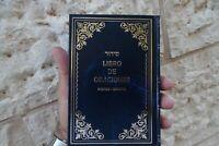 BJ28 Large Sidur Español Spanish-Hebrew Española Siddur Jewish Pray Book Israel