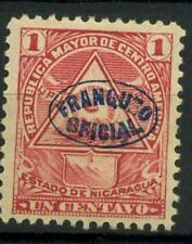 Nicaragua 1898 Sc. O118 Neuf * 100% timbres officiels