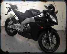 APRILIA Rs4 125 13 01 A4 Metal Sign moto antigua añejada De