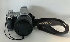 Sony DSC-H1 12x Zoom Cyber Shot AA Battery Digital Camera W/ Lens Cover TESTED