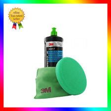 3M Perfect it III Mousse de polisage 150mm + Chiffon de lustrage + Fast Cut Plus