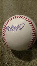 Michael Brantley signed In Person MLB Baseball Indians AUTO