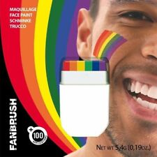 Rainbow Fan Brosse Pour Gay Pride Face & Body Make up Dance Party Montre