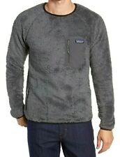 Patagonia Los Gatos Crew Size S Mens New MSRP $89 Forge Grey Recycled Polyester