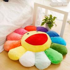 """15.75"""" Plush Sofa Cushion Auto Accessory Murakami Takashi Sunflower US Shipping"""