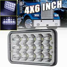 "DOT 180W 4x6"" Cree Led Clear Headlight For Chevrolet GMC Kenworth Peterbilt 1PC"