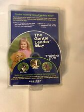 Gentle Leader Head Collar and Training DVD Silver Large 60-130 LBS Pet Safe