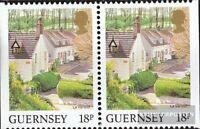 GB-Guernsey 448Dl/Dr (kompl.Ausg.) postfrisch 1989 Ansichten