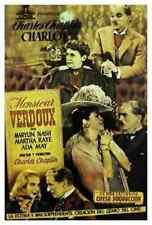 Monsieur Verdoux 06 comprimidos A3 cartel impresión
