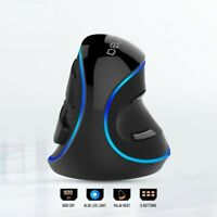 Ergonomic Vertical Mouse 6 Button 600/1000/1600 DPI Wired Computer Laptop Mouse