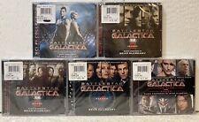 Battlestar Galactica Soundtrack CD - Seasons 1,2,3,4, The Plan and Razor - RARE