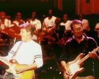 Paul McCartney and Eric Clapton Beatles 8x10 Photo 107