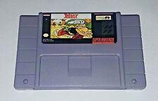 Asterix - game For SNES Super Nintendo - NTSC Version - Platformer