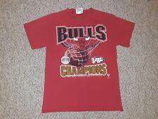 VINTAGE 90S RARE CHICAGO BULLS 1997 NBA CHAMPIONS T-SHIRT Youth XL