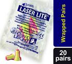 40 Soft foam ear plugs (20 pairs) Howard Leight Laser Lite Earplugs SNR 35dB