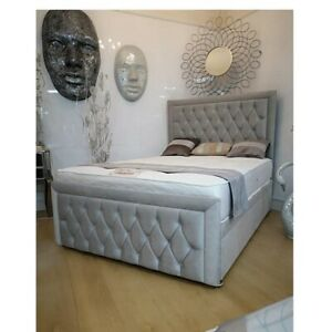 ottoman bed with mattress