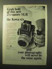 1969 Kowa Six 2 1/4 SLR Camera Ad - Grab Hold