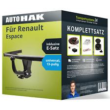 Renault Espace 1996-2002 AUTO HAK Anhängerkupplung starr 7polig E-Satz AHK neu